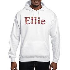Ellie Pink Flowers Hoodie