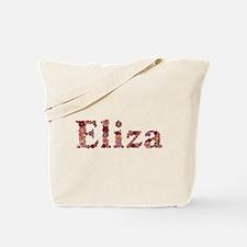 Eliza Pink Flowers Tote Bag