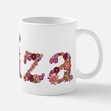 Eliza Pink Flowers Mugs