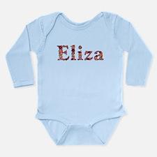 Eliza Pink Flowers Body Suit