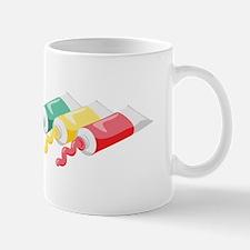 Artist Color Paints Mugs