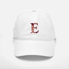 E Pink Flowers Baseball Baseball Baseball Cap