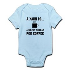 Yawn Coffee Body Suit