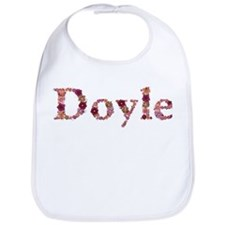 Doyle Pink Flowers Bib