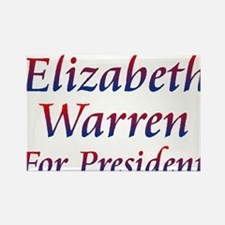 Elizabeth Warren Rectangle Magnet (10 pack)