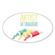 Artist In Training Decal