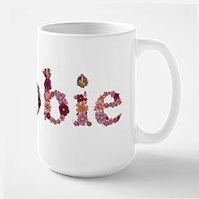 Debbie Pink Flowers Mugs