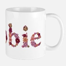 Debbie Pink Flowers Mugs