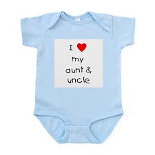 I love my aunt & uncle Infant Bodysuit
