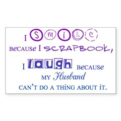 Laugh3 Rectangle Decal