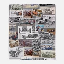 Poster Collage Throw Blanket