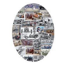 Poster Collage Oval Ornament