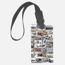 Poster Collage Luggage Tag