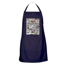 Poster Collage Apron (dark)