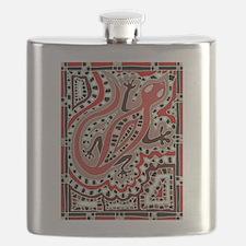 Art Gecko Flask