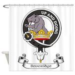 Badge - Beveridge Shower Curtain