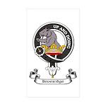 Badge - Beveridge Sticker (Rectangle 50 pk)
