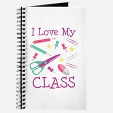 I Love My Class Journal