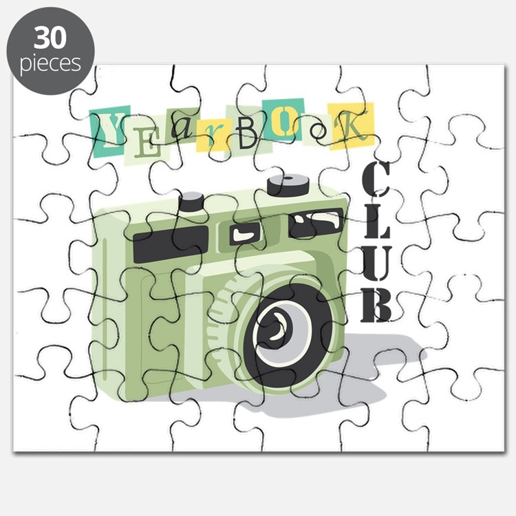 Almanacs Yearbooks: Yearbook Puzzles, Yearbook Jigsaw Puzzle Templates