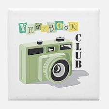Year Book Club Tile Coaster