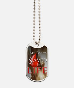 Dog Tags - Donor Saved Me