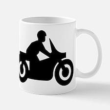 MOTORCYCLE BIKER GUY Mugs