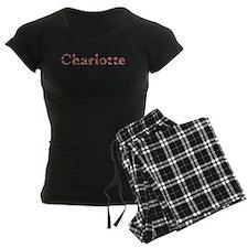 Charlotte Pink Flowers Pajamas