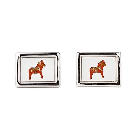Dala Horse Cufflinks