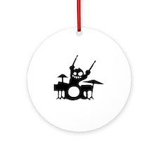 drum Round Ornament