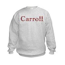 Carroll Pink Flowers Sweatshirt