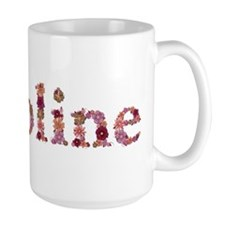 Caroline Pink Flowers Mugs