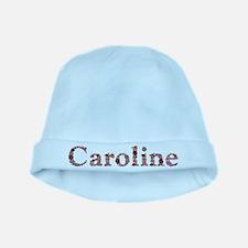 Caroline Pink Flowers baby hat