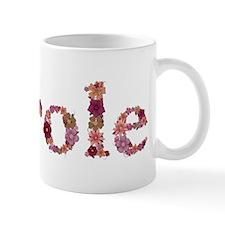 Carole Pink Flowers Mugs
