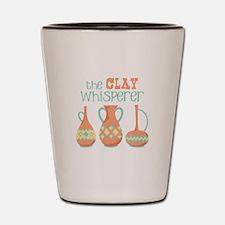 The Clay Whisperer Shot Glass