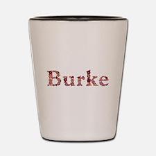 Burke Pink Flowers Shot Glass