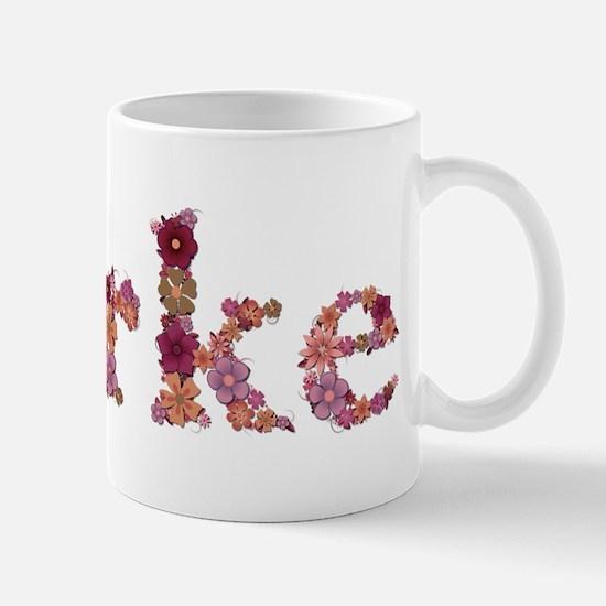 Burke Pink Flowers Mugs