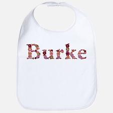 Burke Pink Flowers Bib