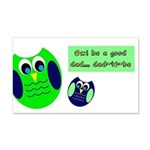 Owl be a good dad...dad-to-be Wall Decal