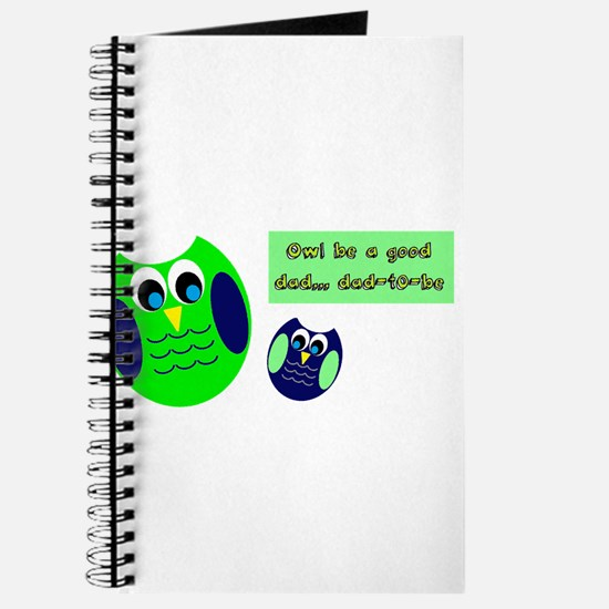 Owl be a good dad...dad-to-be Journal