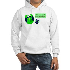 Owl be a good dad...dad-to-be Hoodie