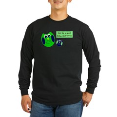 Owl be a good dad...dad-to-be Long Sleeve T-Shirt