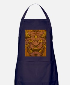 Wood Oni Apron (dark)