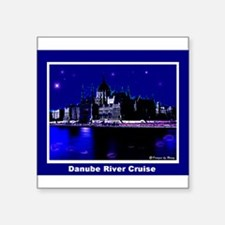 Danube River Cruise Rectangle Sticker