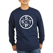 T - Navy Long Sleeve Dark T