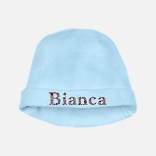 Bianca Pink Flowers baby hat