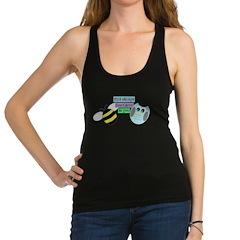 Owl always bee-lieve in you Racerback Tank Top