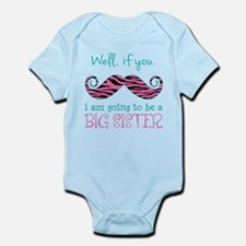 Im Going to be a Big Sister Infant Bodysuit