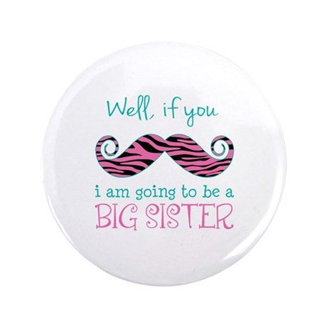 "Im Going to be a Big Sister 3.5"" Button (100 pack)"