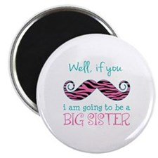 "Im Going to be a Big Sister 2.25"" Magnet (10 pack)"