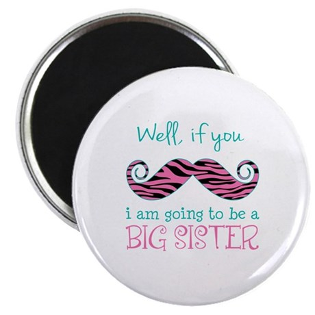 """Im Going to be a Big Sister 2.25"""" Magnet (100 pack"""